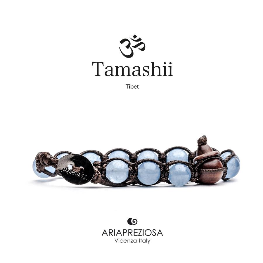molto carino 83241 6addc Aria Preziosa - Bracciale Tamashii Originale Agata Azzurra